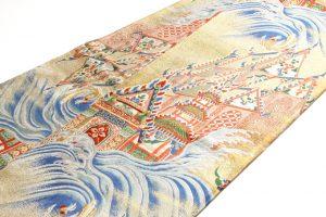 志ま亀謹製 錦織丸帯 龍宮のサブ1画像