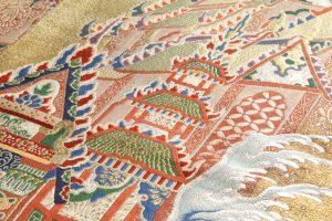 志ま亀謹製 錦織丸帯 龍宮のサブ2画像