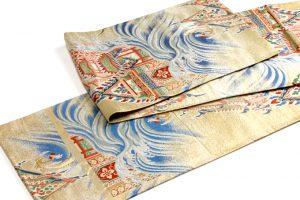 志ま亀謹製 錦織丸帯 龍宮のサブ3画像