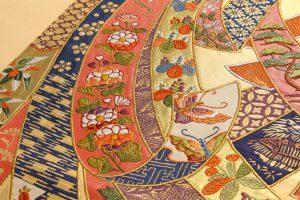 山口伊太郎作 本金箔袋帯のサブ3画像