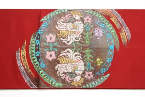 龍村光峯謹製 袋帯 「西域冠鳩文」のサブ1画像