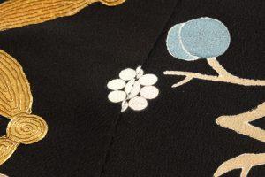 東京染繍大彦製 アンティーク振袖のサブ3画像