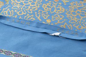 龍村平蔵製 袋帯「天平蝶花文」のサブ4画像