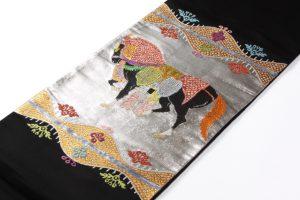 龍村平蔵製 袋帯 「天竺祭馬文」のサブ1画像