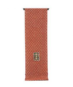 草紫堂製茜染 綿名古屋帯地のメイン画像