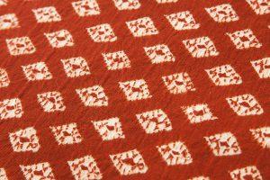 草紫堂製茜染 綿名古屋帯地のサブ3画像
