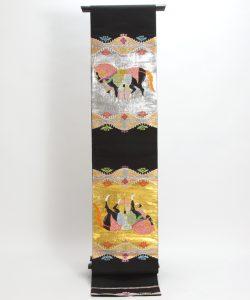 龍村平蔵製 袋帯  天竺祭馬文のメイン画像
