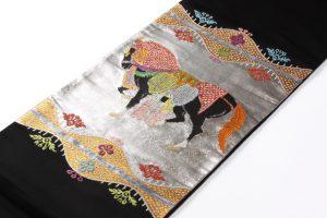 龍村平蔵製 袋帯  天竺祭馬文のサブ2画像