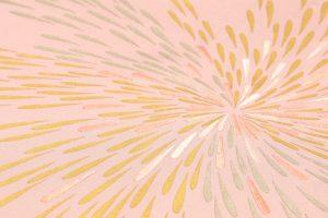 人間国宝 福田喜重作 刺繍塩瀬名古屋帯 菊のサブ1画像