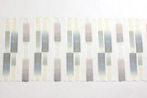 深石美穂作 川平織着尺 「水心雲影」のサブ1画像