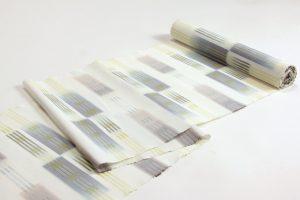 深石美穂作 川平織着尺 「水心雲影」のサブ3画像