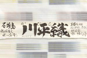 深石美穂作 川平織着尺 「水心雲影」のサブ4画像