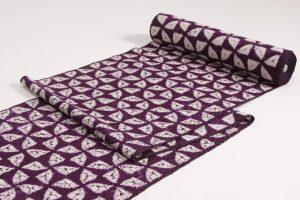 紫根染め 紬着尺のサブ3画像