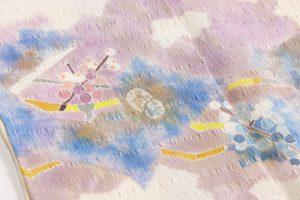 木原明作 訪問着「野葡萄文 秋の野へ」のサブ4画像