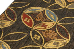 勝山織物製 手織袋帯地のサブ2画像