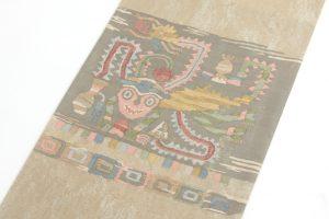 帯屋捨松製 手織袋帯地のサブ1画像