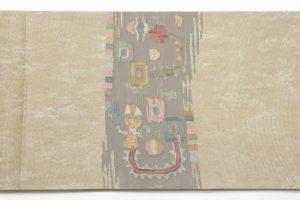 帯屋捨松製 手織袋帯地のサブ2画像