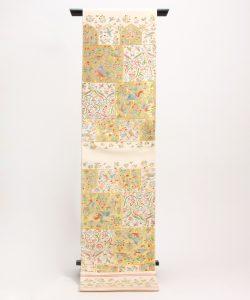 龍村美術織物製 袋帯地 「唐貴楽遊文」 のメイン画像