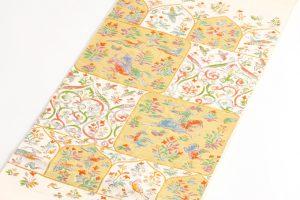 龍村美術織物製 袋帯地 「唐貴楽遊文」 のサブ1画像