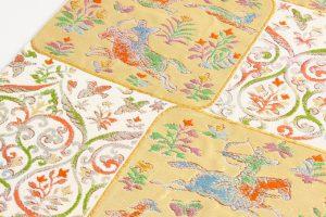 龍村美術織物製 袋帯地 「唐貴楽遊文」 のサブ2画像