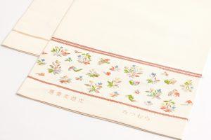 龍村美術織物製 袋帯地 「唐貴楽遊文」 のサブ4画像