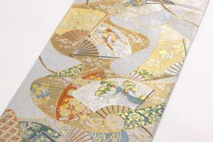川島織物謹製 プラチナ箔本袋帯 のサブ1画像