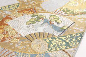 川島織物謹製 プラチナ箔本袋帯 のサブ2画像