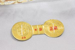 川島織物謹製 プラチナ箔本袋帯 のサブ3画像