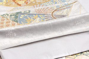 川島織物謹製 プラチナ箔本袋帯 のサブ5画像