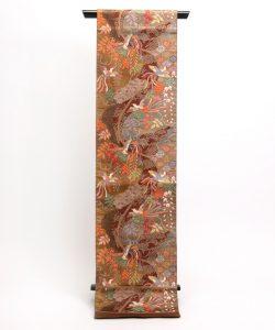 洛風林 帯匠捨松謹製 手織袋帯のメイン画像