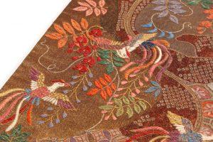 洛風林 帯匠捨松謹製 手織袋帯のサブ2画像