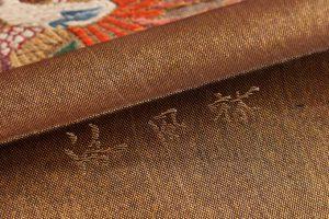 洛風林 帯匠捨松謹製 手織袋帯のサブ3画像