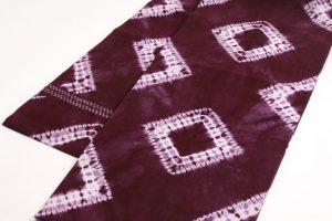 草紫堂製 南部紫根染 綿九寸名古屋帯 のサブ1画像