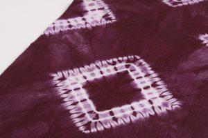 草紫堂製 南部紫根染 綿九寸名古屋帯 のサブ2画像