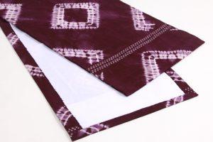 草紫堂製 南部紫根染 綿九寸名古屋帯 のサブ3画像
