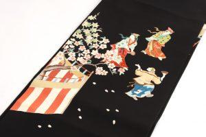 染繍工芸大羊居製 名古屋帯 のサブ1画像
