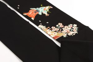 染繍工芸大羊居製 名古屋帯 のサブ3画像