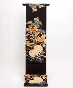 アンティーク刺繍友禅丸帯のメイン画像