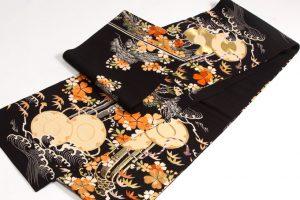 アンティーク刺繍友禅丸帯のサブ4画像