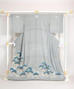 熊谷好博子作 色留袖のメイン画像