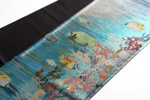 広部織物謹製 袋帯 熱帯魚のサブ1画像