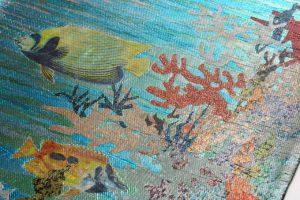 広部織物謹製 袋帯 熱帯魚のサブ2画像