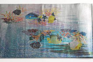 広部織物謹製 袋帯 熱帯魚のサブ3画像
