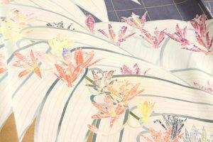 本加賀友禅訪問着 二代目由水十久のサブ3画像