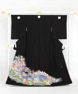 押田正義作 本加賀友禅留袖地のメイン画像