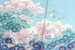 毎田仁郎作 本加賀友禅色留袖 「はい松に千鳥」のサブ1画像