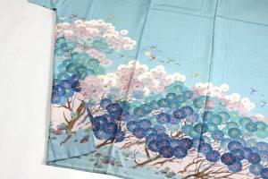 毎田仁郎作 本加賀友禅色留袖 「はい松に千鳥」のサブ2画像