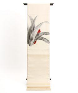 熊谷好博子作 袋帯 南天柄のメイン画像