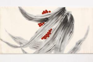 熊谷好博子作 袋帯 南天柄のサブ3画像