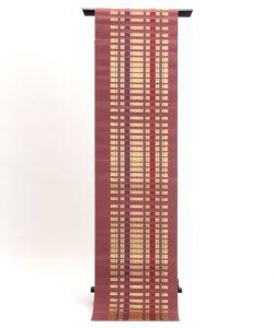 小川規三郎作 献上博多織八寸帯 浮織献上のメイン画像